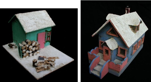 Folk Art Cabins