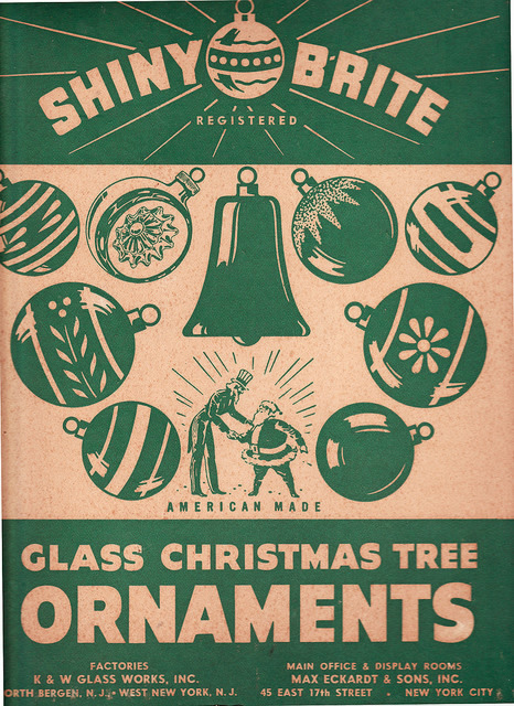 The History Of Shiny Brite Ornaments - Retro Christmas Cards