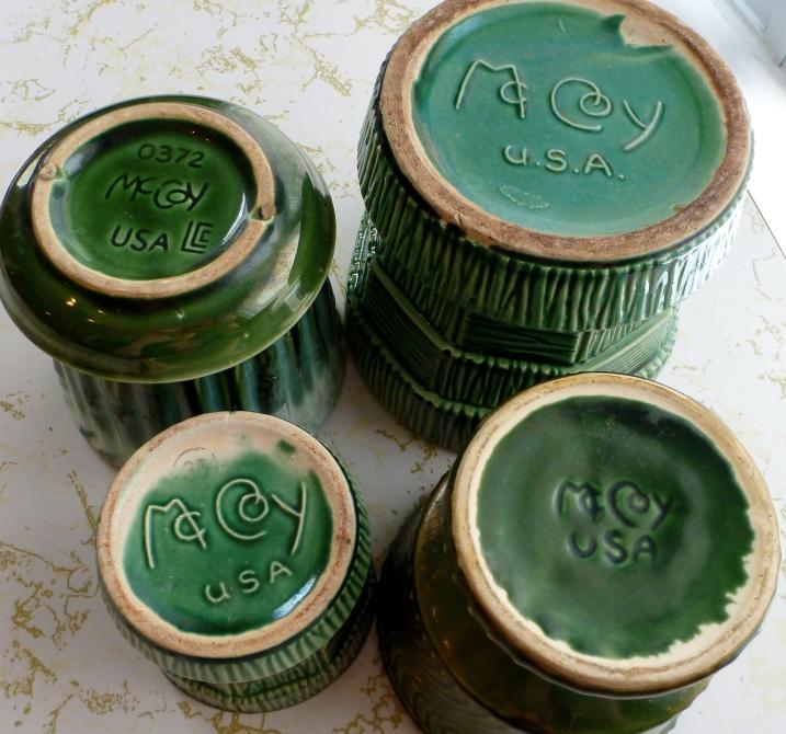McCoy pottery marks