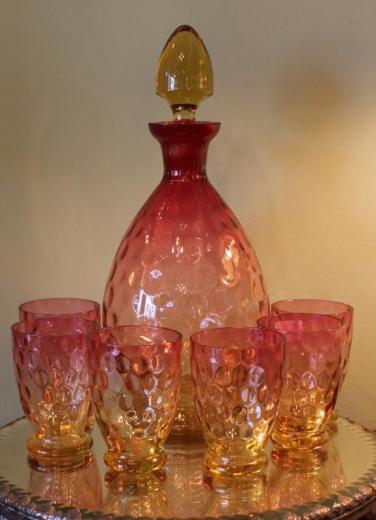 Amberina Liqueur Set