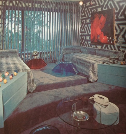 """Teenage Haven"" Bedroom from 1971"