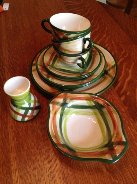 Vernonware Tam O'Shanter dishes