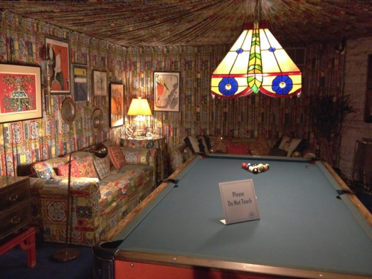 Graceland pool room