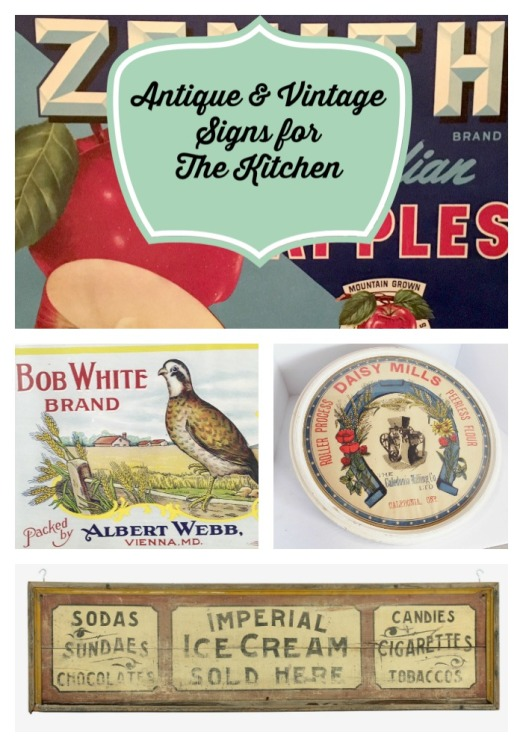 antiquesigncollage
